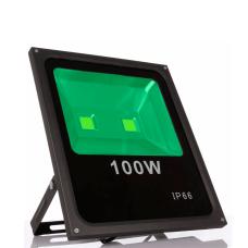 Refletor 100W Led Verde Bivolt ip 66