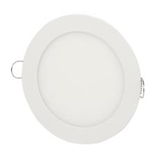 Plafon 6W Luminaria Embutir Led Branco Frio Redondo
