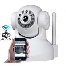 Camera IP WI-FI 720P  Acesso via Celular com audio