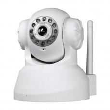 Camera IP 0.3 Megapixel VGA  IR-CUT IP Dinâmico P2P Wifi