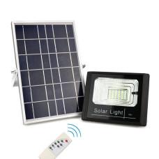 Refletor Solar Led Holofote 100w Branco Frio