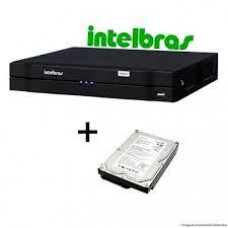 DVR intelbras MHDX 3016 Gravador digital de vídeo Multi HD + hd 2 tera