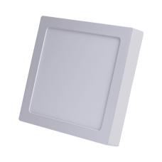 Plafon 12W Luminaria Sobrepor Led Branco Frio Quadrado