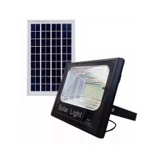 Refletor Luminária Holofote Placa Solar Completo 300w