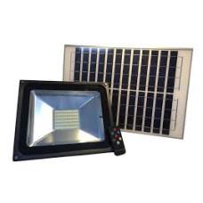 Refletor Solar Led Holofote 60W Branco Frio